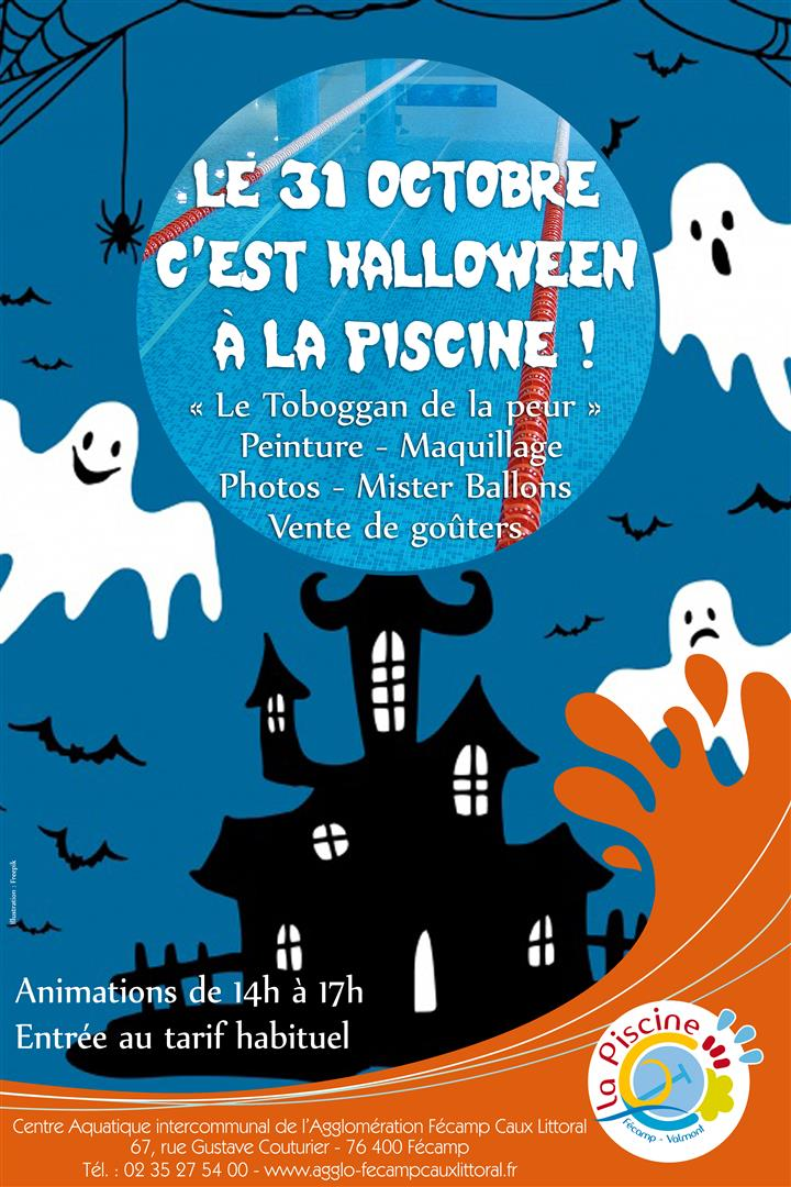Animation Halloween A La Piscine Saint Leonard Normandie Votre