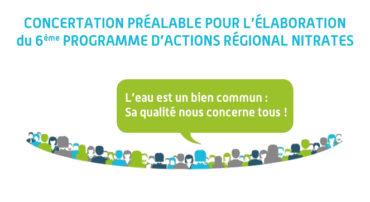 Révision du Programme d'Actions Régional nitrates (concertation préalable du public)