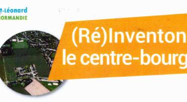 """(Ré)Inventons le centre-bourg ! – PROJET """"CENTRE BOURG"""" (réunions publiques)"""